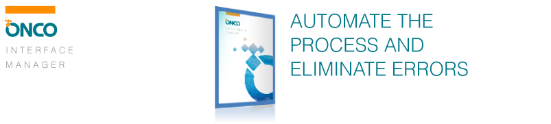 Automate the process and eliminate errors
