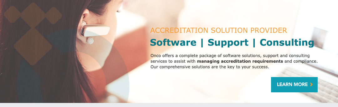 Accreditation Solution Provider - Software, Support, Consulting